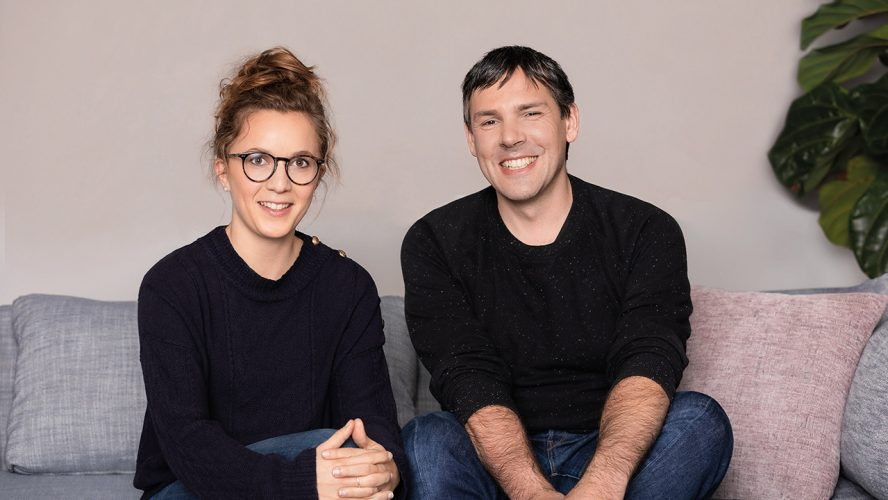 1 - Mathilde Collin (co-founder and CEO) and Laurent Perrin (co-founder and CTO)