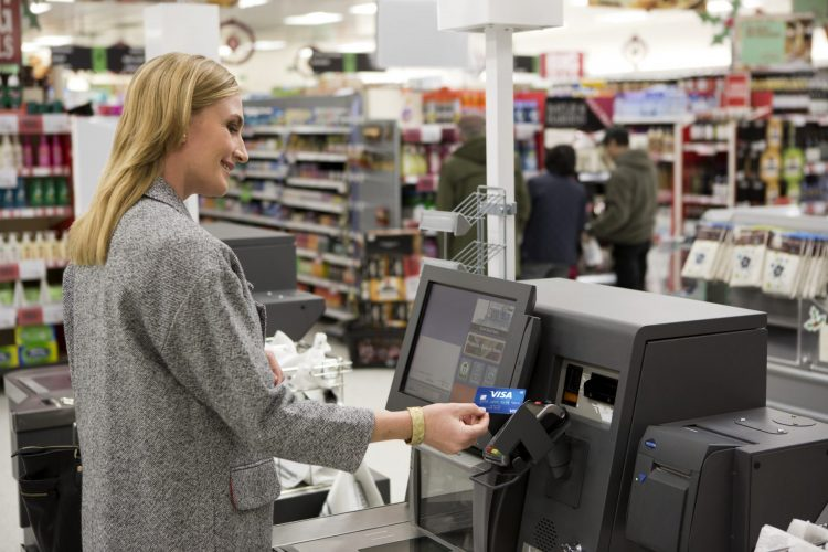 Contactless - grocery