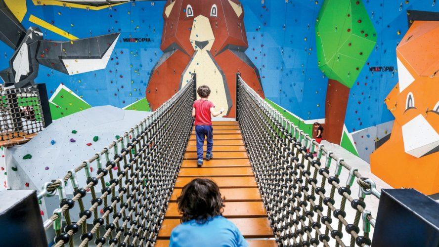 Walltopia разказва за най-големите зали за катерене по света