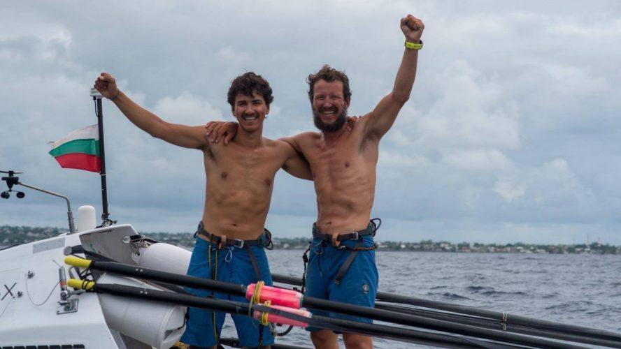 Смелост, кауза и 8230 километра, преминати  с гребна лодка в океана