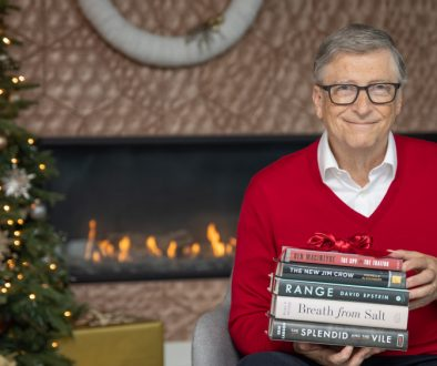 Бил Гейтс препоръчва 5 хубави книги за ужасна година като 2020