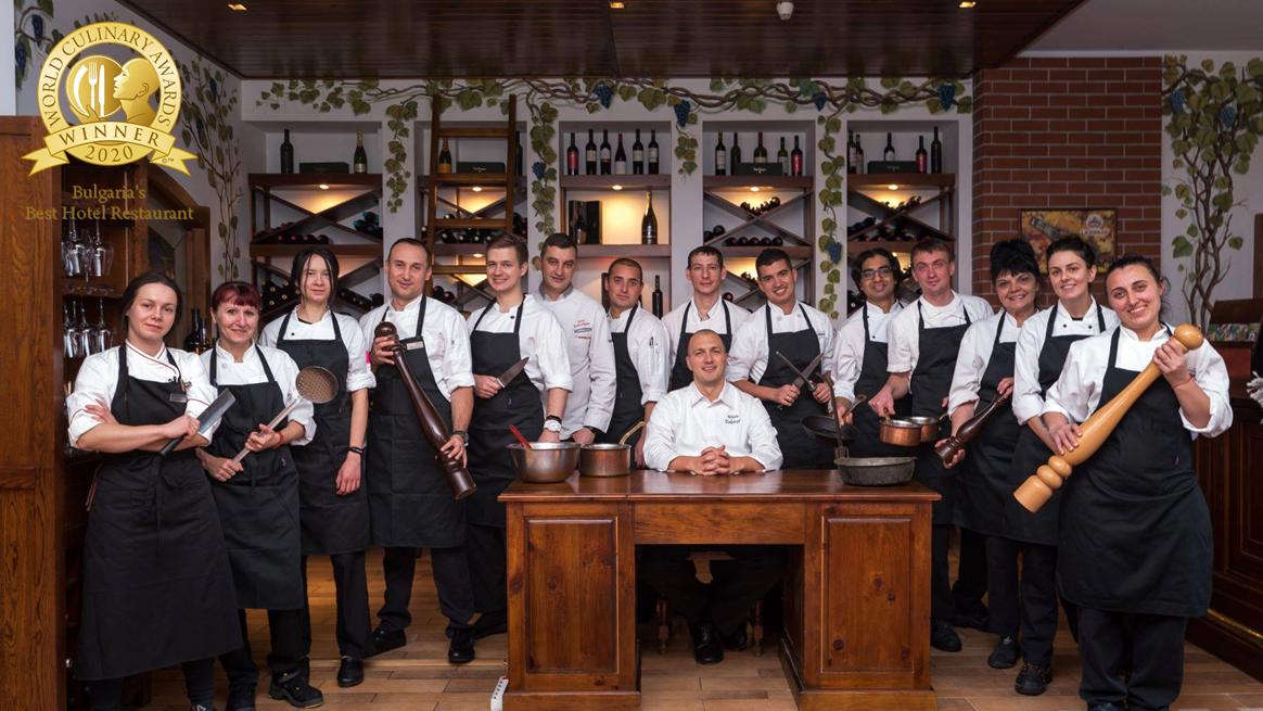 """""""Коме Прима"""" спечели наградата """"Bulgaria's Best Hotel Restaurant"""" от World Culinary Awards"""