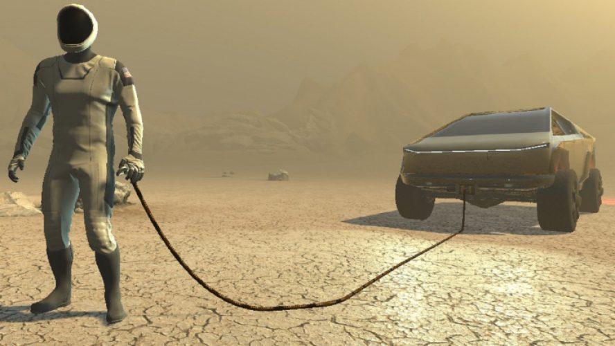 """Българинът, който получи разрешение от Илон Мъск да """"колонизира"""" Марс с играта си"""