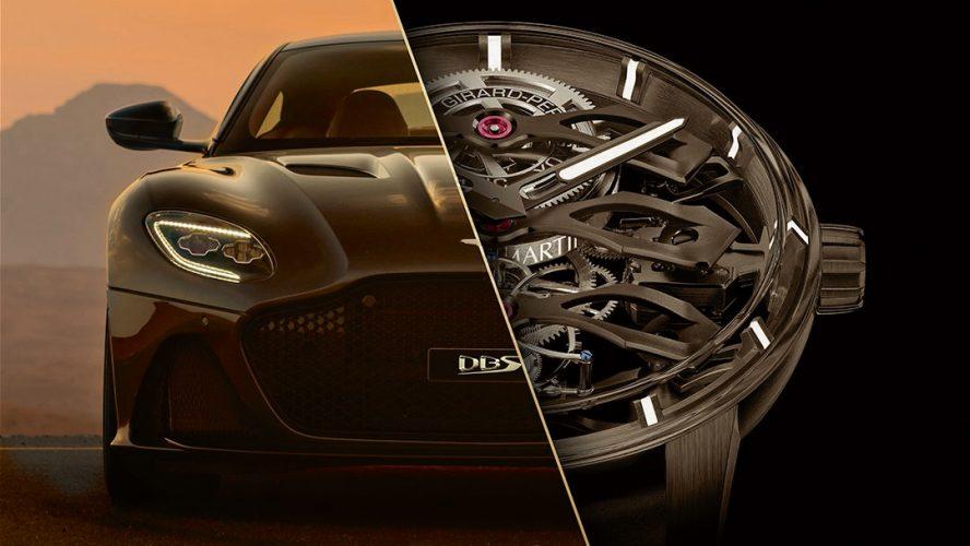 Tourbillon with Three Flying Bridges – Aston Martin Edition – страст към съвършенство