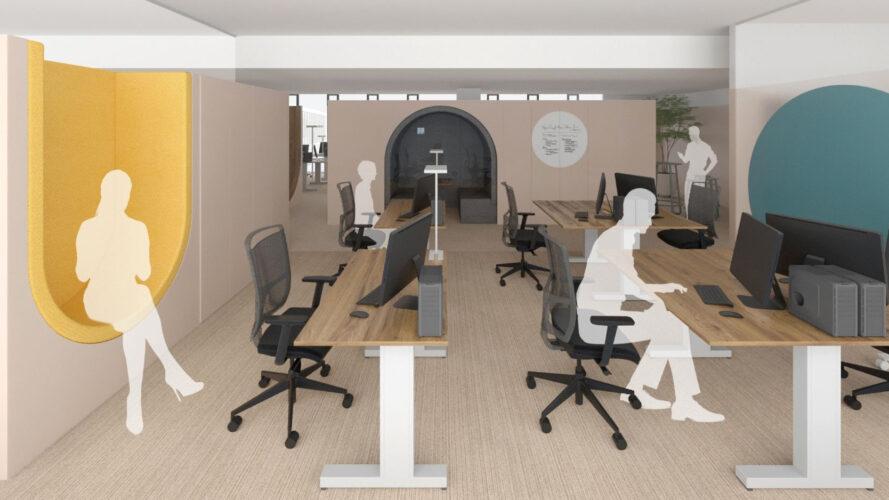 Най-новата лидерска задача: офис редизайн