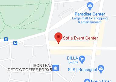 Събитието ще се проведе в Sofia Event Center (SEC)